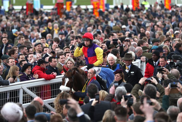 The crowds are due to descend next month on the Cheltenham Festival, where Native River won last year's Gold Cup