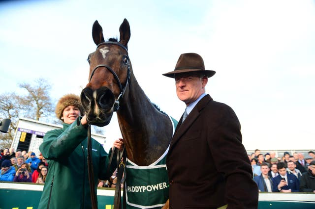 Willie Mullins considering a return to Leopardstown for Douvan
