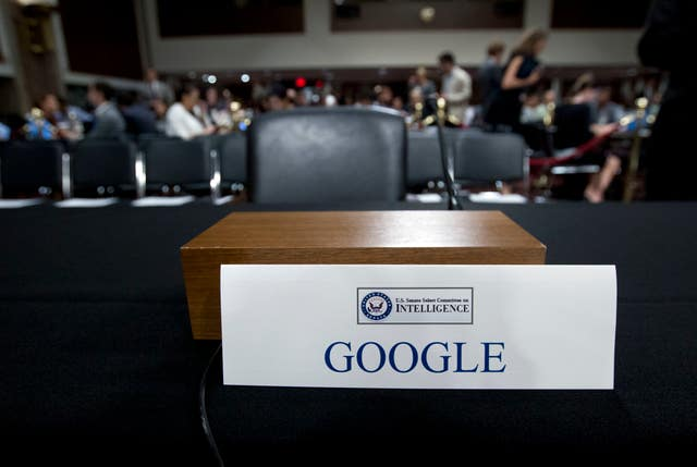 An empty chair for Google