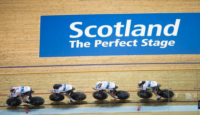 Great Britain's women's pursuit team were in fine form in Glasgow