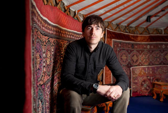 BBC presenter Simon Reeve has visited a refugee camp on the Myanmar-Bangladesh border.