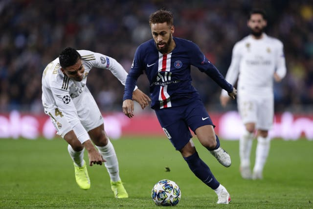 Paris St Germain battle back from two down to hold Real Madrid