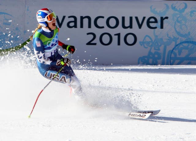 Lindsey Vonn's only Winter Olympics title to date is downhill gold from the Vancouver 2010 Games
