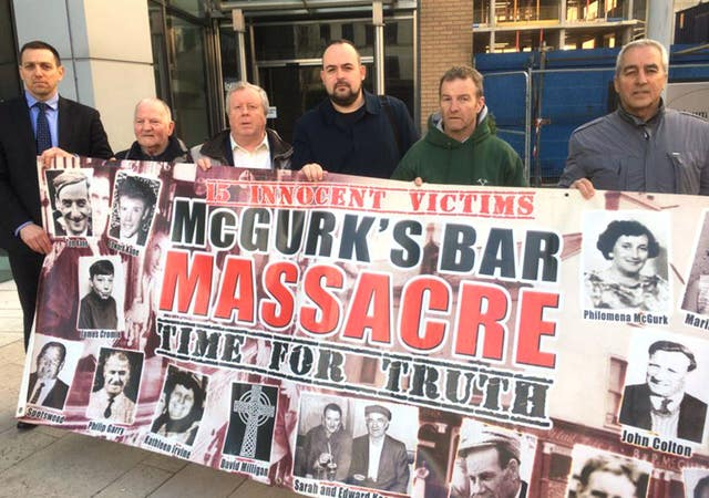 McGurks bar bombing investigation