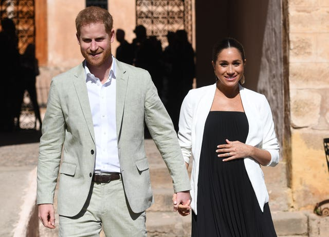 Harry and Meghan in Morocco