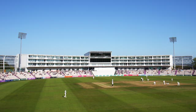 Hampshire v Somerset – Specsavers County Championship – Division One – Day Three – Ageas Bowl
