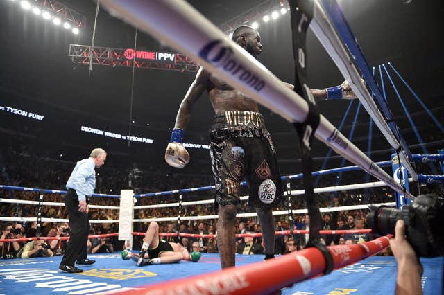 Boxing – Staples Center