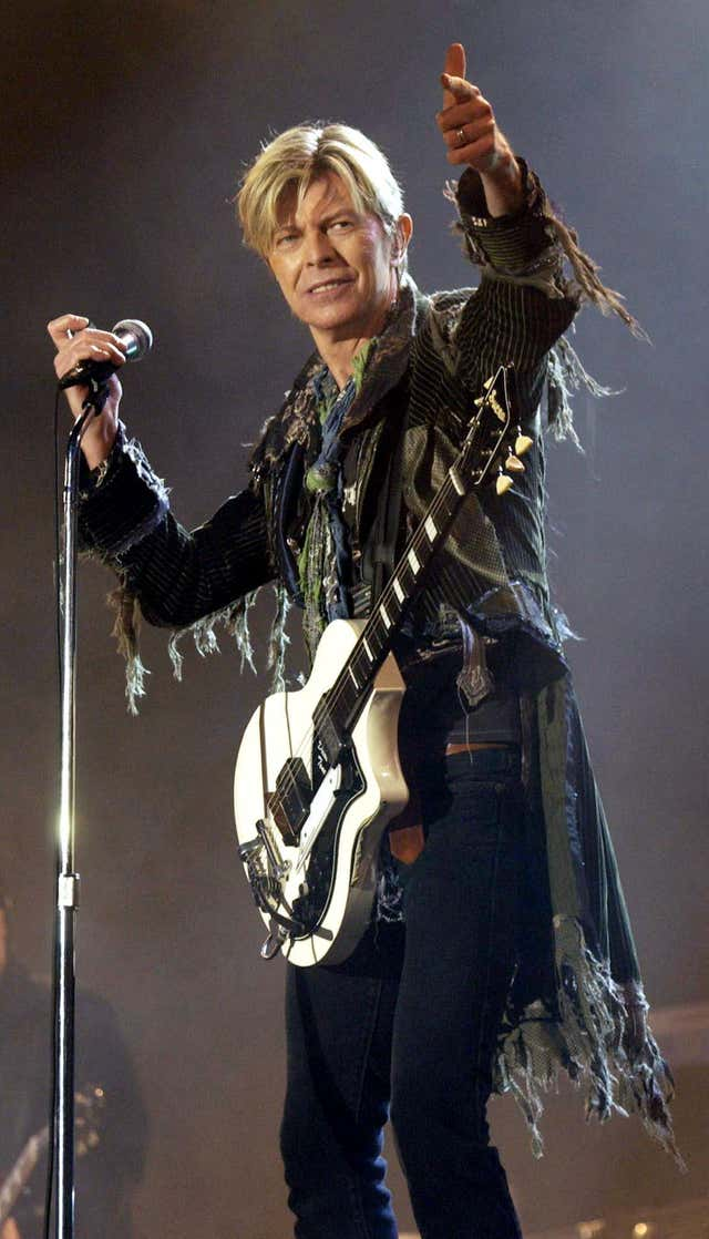 David Bowie Isle Of Wight Festival