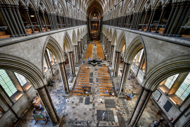 Salisbury Cathedral Tower Tour