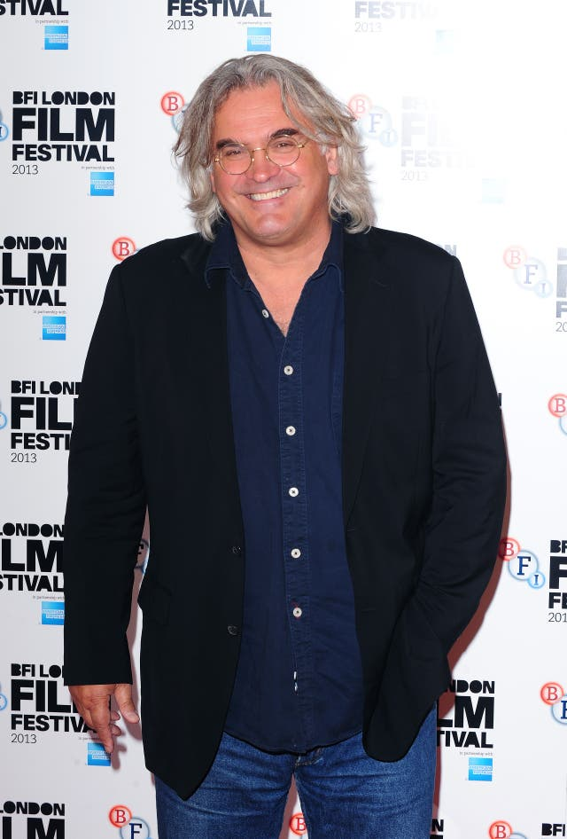 Paul Greengrass arrives at a photocall for film Captain Phillips at the Mayfair Hotel, London
