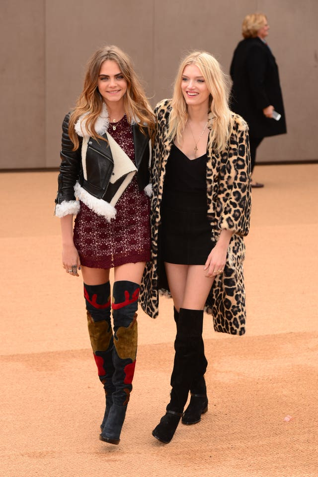 Burberry Prorsum Arrivals – London Fashion Week 2015