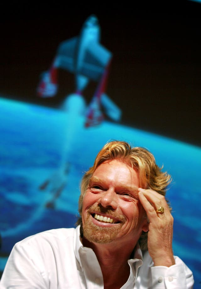 Sir Richard Branson Virgin Galactic