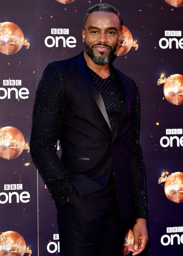 Charles Venn at the Strictly Come Dancing Launch