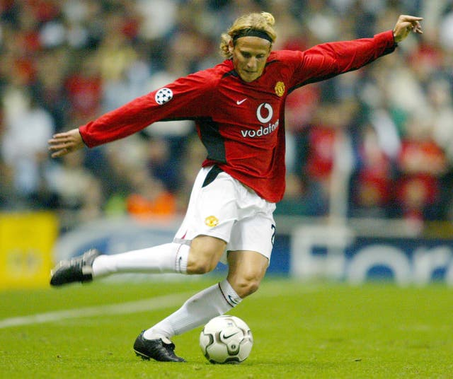 Forlan's United career saw him score 17 goals in 98 appearances for the club (Phil Noble/PA).