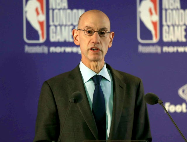 NBA commissioner Adam Silver also announced plans including the draft and start date for the 2020-21 campaign