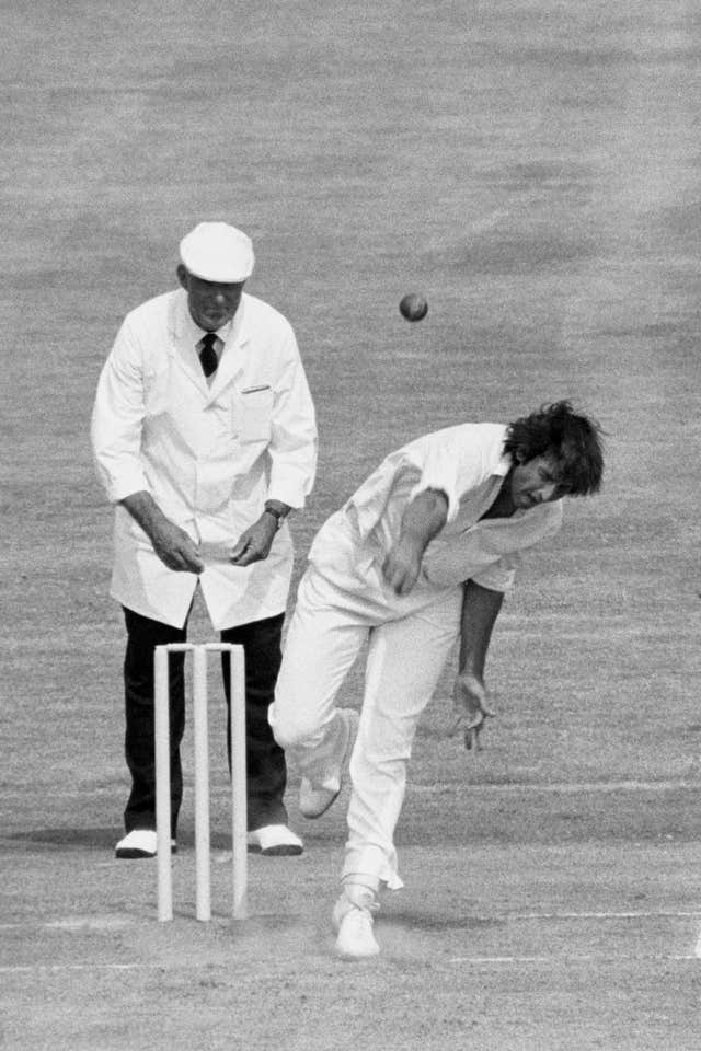 Mike Selvey was unlucky to play only three Tests.