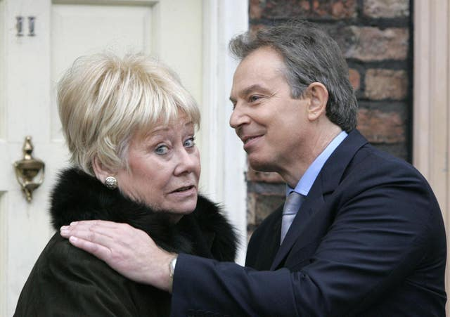 Tony Blair – Coronation Street