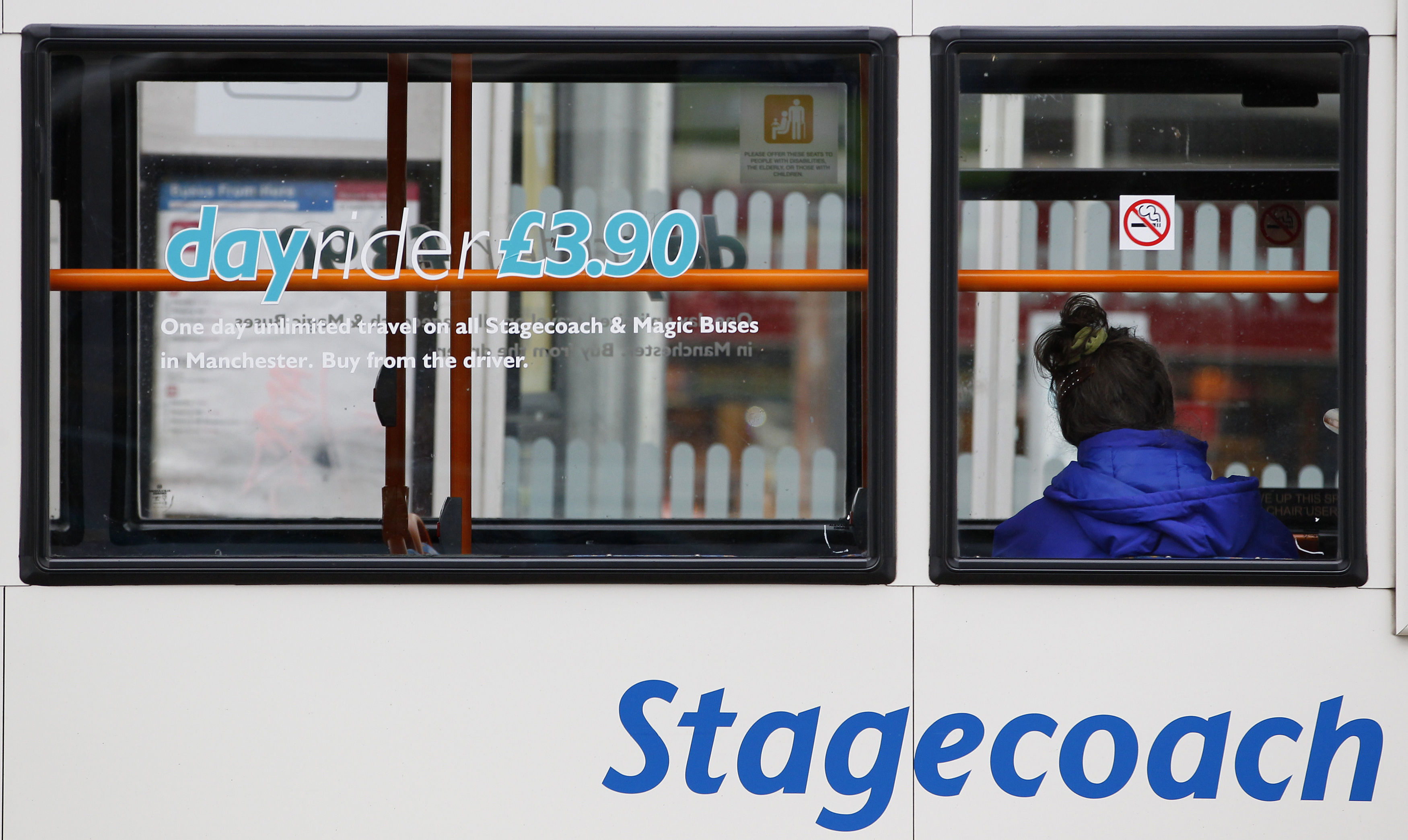 Stagecoach profits dip on rail franchise woes