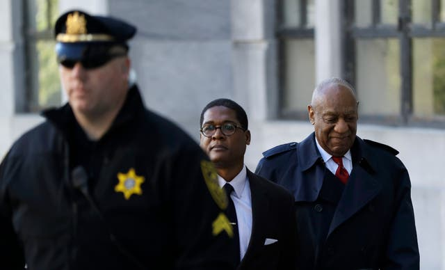 Bill Cosby denies the charges (Matt Slocum/AP)