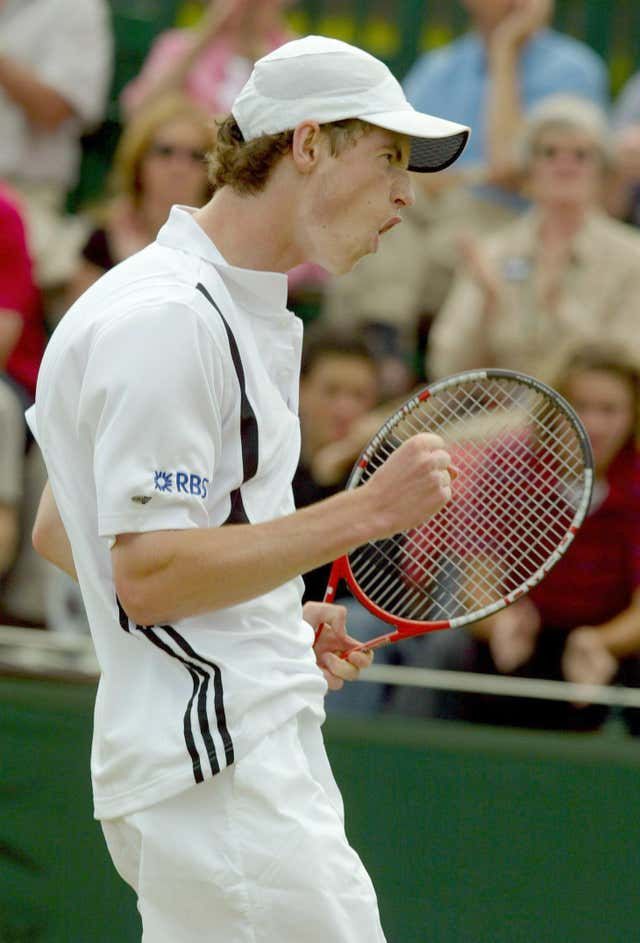 Wimbledon 2004 Andy Murray