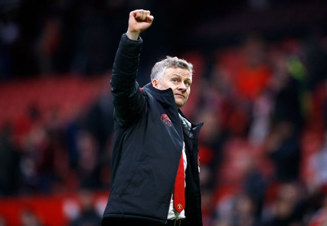 Ole Gunnar Solskjaer has won all five of his matches in interim charge of Manchester United (Martin Rickett/PA)
