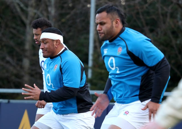 Brothers Mako (left) and Billy will turn out for England this weekend