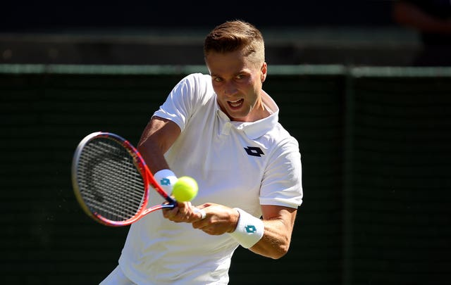 Liam Broady was given a wild card into Wimbledon in 2018 but considered quitting tennis