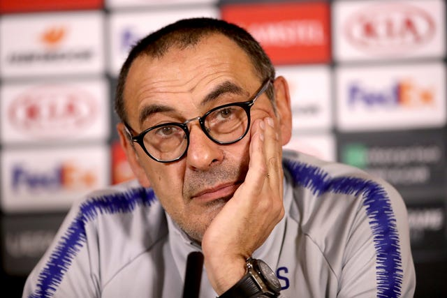 Maurizio Sarri struggled to win universal approval from Chelsea fans despite on-pitch success