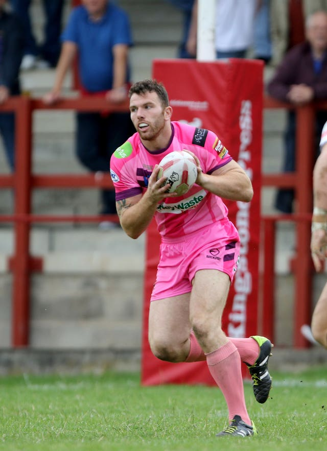 Keegan Hirst in action for the Batley Bulldogs