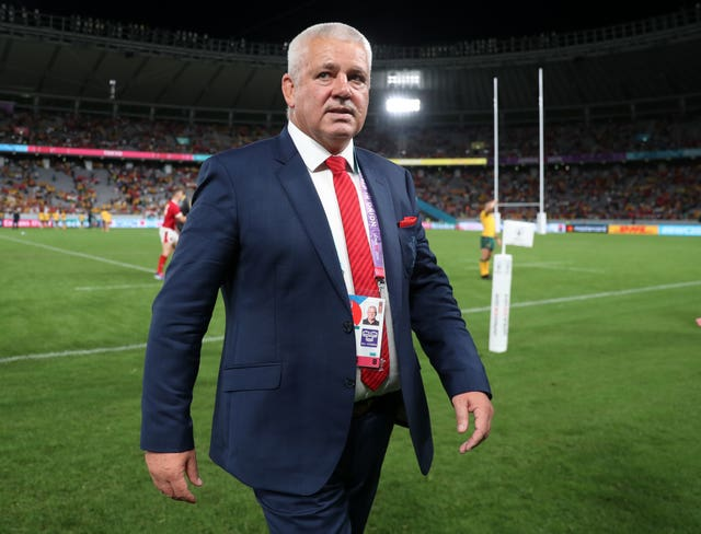 Wales head coach Warren Gatland says he is not worrying about the possibility of adverse weather