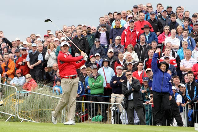 McIlroy, pictured here in 2012, knows his way around the Royal Portrush links