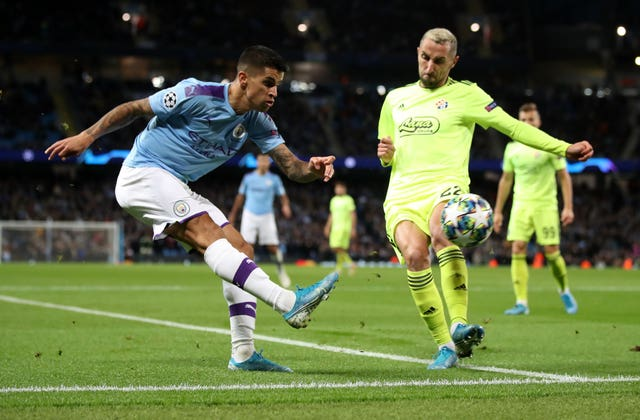 Joao Cancelo says he joined Manchester City to learn from Pep Guardiola