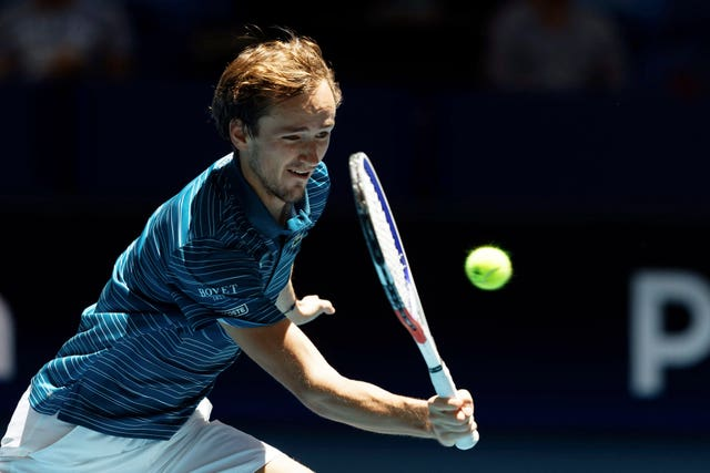Daniil Medvedev has already reached a grand slam final