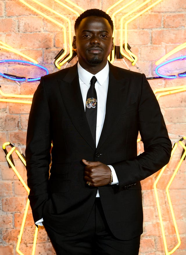 After receiving multiple nominations for his breakout role in Get Out, Daniel Kaluuya plays the title characters best friend W'Kabi (Ian West/PA)