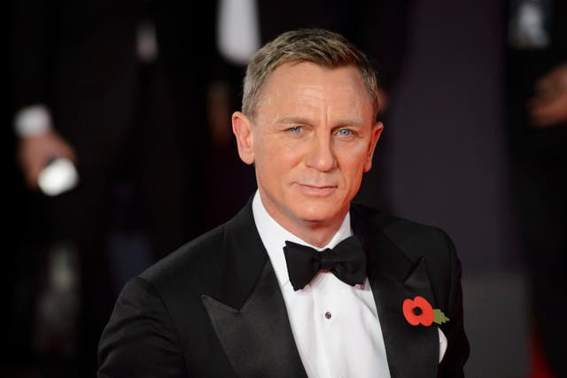 The latest James Bond film is expected to be Daniel Craig's last time playing the spy (Matt Crossick/PA)