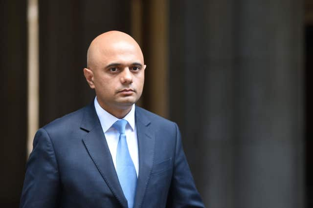 Sajid Javid has been urged to revoke planning permission for a surface coal mine (David Mirzoeff/PA)