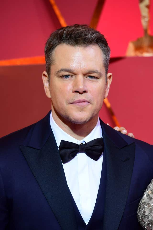 Matt Damon (PA)