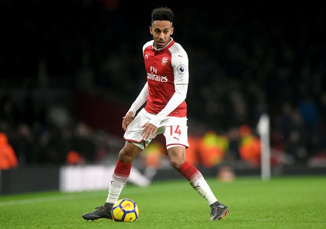 Pierre-Emerick Aubameyang is not available for Arsenal in the Europa League this season