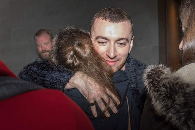 Sam Smith on Radio 1