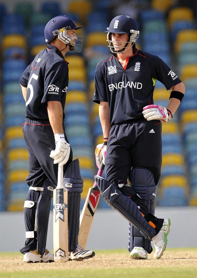 Michael Lumb and Craig Kieswetter set the tone for England's success.