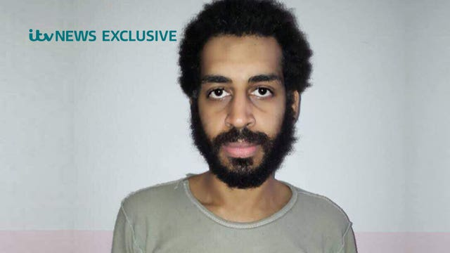 Alexanda Kotey was captured in Syria (ITV News/PA)