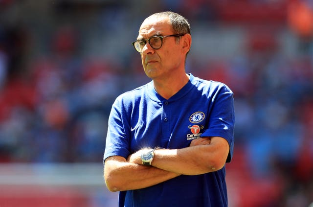 Chelsea head coach Maurizio Sarri expects Eden Hazard to stay