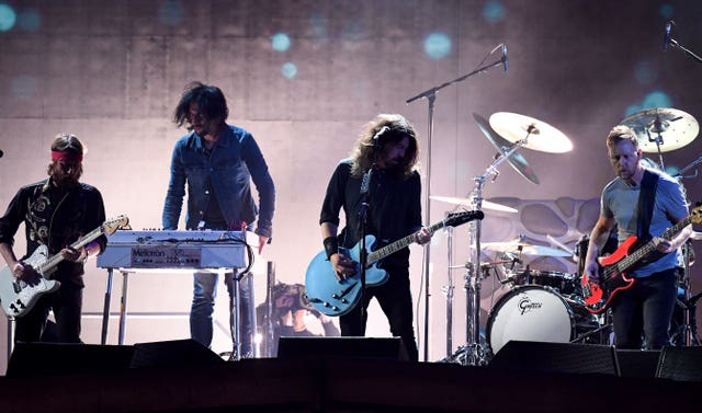 Foo Fighters (Victoria Jones/PA).