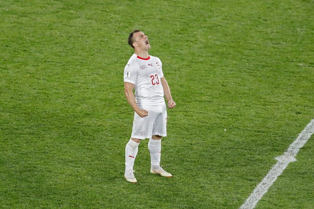 Stoke's Xherdan Shaqiri is one of the best-known Swiss players to England fans