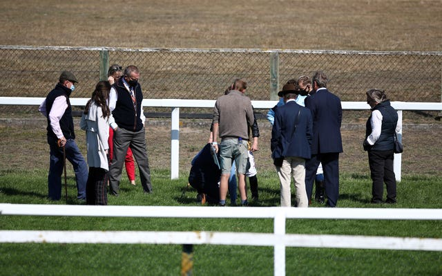 Racing was called off at Yarmouth after the third race