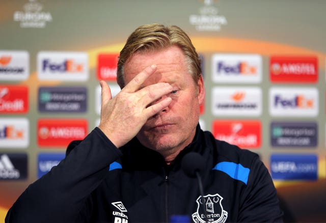 Ronald Koeman file photo