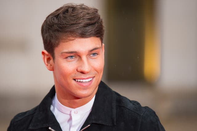 Joey Essex arriving at the Sun Military Awards, at the Guildhall, London.