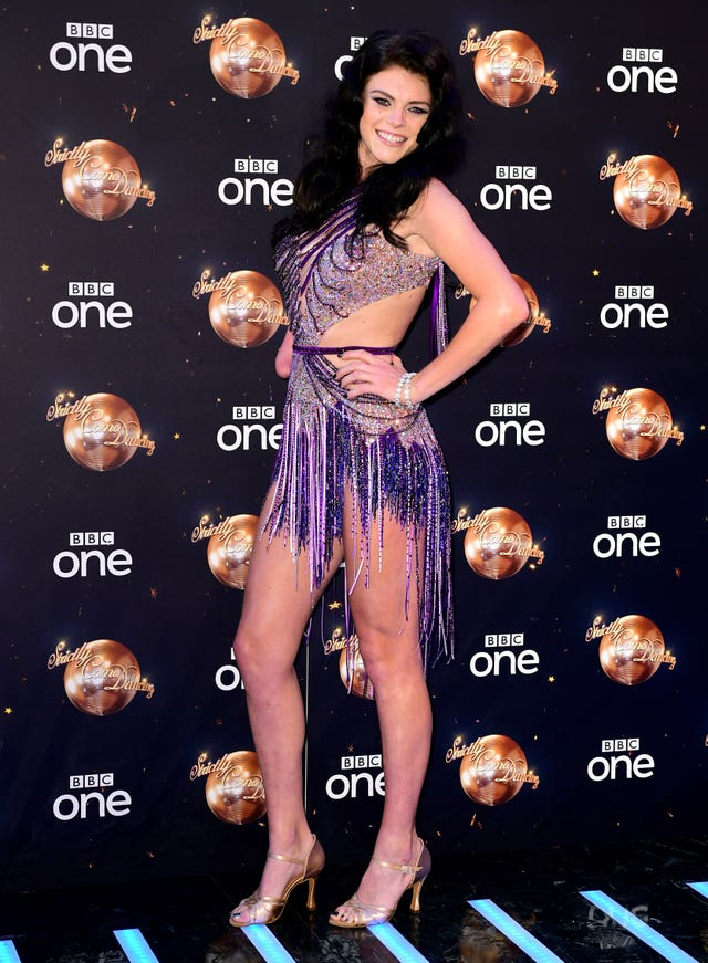 Lauren Steadman at the Strictly Come Dancing Launch