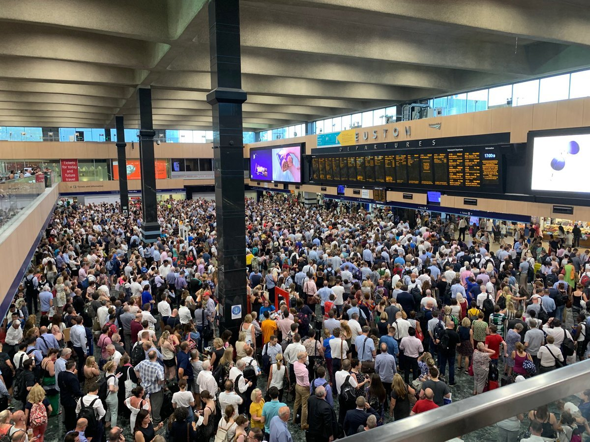 Delays Cause Misery For Holidaymakers At Gatwick And Heathrow
