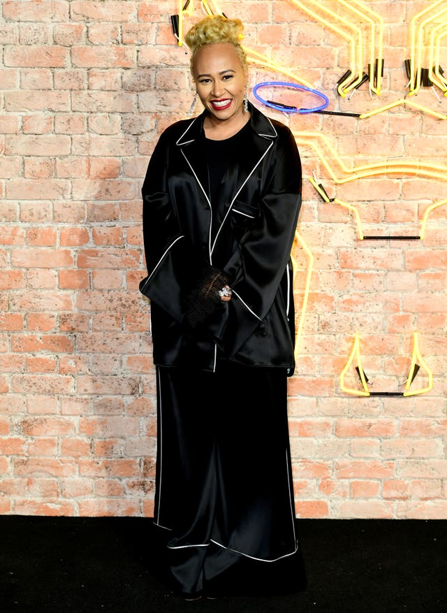 Emeli Sande also attended (Ian West/PA)